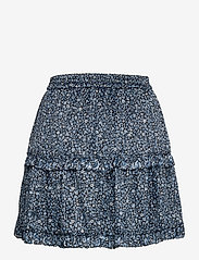 Michael Kors - MINI FLORAL MINI SKIRT - korte nederdele - chambray - 1