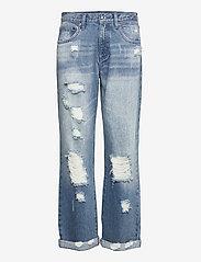Michael Kors - UNISEX  DNM PNT DISTRESSD - straight jeans - authenticblu - 0