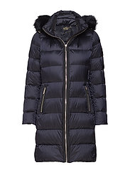 LONG HEAVYDOWN PUFFER - NAVY