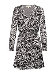 SAFARI RFL DRESS - GUNMETAL