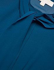 Michael Kors - PLEATED TOP - blouses met lange mouwen - river blue - 3