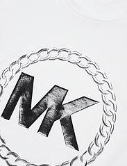 Michael Kors - ELV HT CHAIN LOGO T - t-shirts - white - 2