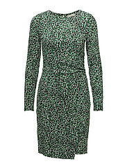 REPTILE WRAP DRESS - 169