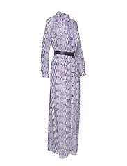 Michael Kors - CORAL MOSAIC SHIRT DR - blousejurken - lavendermist - 7