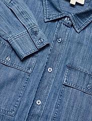 Michael Kors - CHAMBRAY BTN DN BF SHIRT - overhemden met lange mouwen - vtg cs wsh - 2