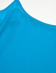 Michael Kors - 60S FLORAL BTN DWN BLS - blouses met lange mouwen - brt cyan blu - 4