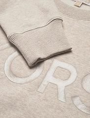 Michael Kors - UNISEX TONAL SWEATSHIRT - sweatshirts en hoodies - dune heather - 2