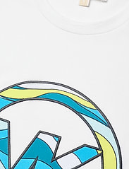 Michael Kors - SXTS SWRL GRAPHIC TSHIRT - t-shirts - white - 2