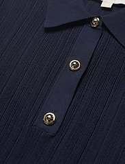 Michael Kors - BUTTON POLO SWEATER - polohemden - midnightblue - 2