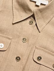 Michael Kors - HEMP UTILITY MINI DRESS - blousejurken - khaki - 2