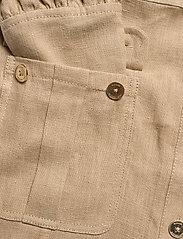 Michael Kors - HEMP UTILITY MINI DRESS - blousejurken - khaki - 3