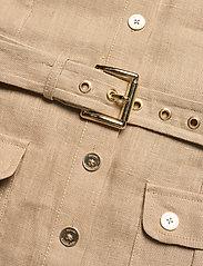 Michael Kors - HEMP UTILITY MINI DRESS - blousejurken - khaki - 4