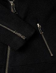 Michael Kors - DOUBLE FACE MOTO - wool jackets - black - 4