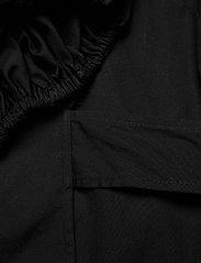 Michael Kors - COTTON POPLIN WRAP TP - blouses met lange mouwen - black - 3