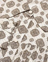 Michael Kors - LUX PD MEDALLION TOP - chemises à manches longues - bone - 2