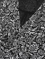 Michael Kors - FLORAL KATE DS - alledaagse jurken - black/white - 2