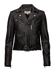 Michael Kors - Classic Leather Moto
