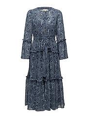 TIERED BOHO DRESS - TRNVY/LTCMBY