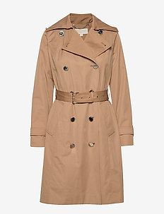 WINTER TRENCH - trencze - dark camel