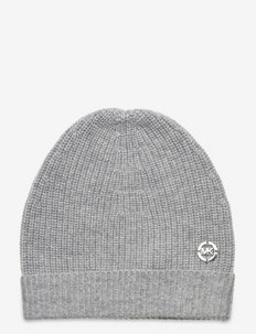 CASHMERE BEANIE - huer - pearl hther