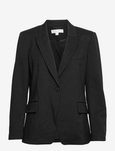FITTED 1 BTTN BLAZER - enkeltspent blazer - black