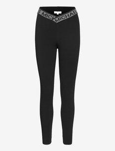 ECO MK TAPE LEGGING - leggings - black