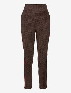 MKGO MINI MK DOT LEGGING - leggings - chocolate