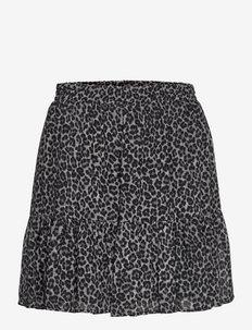 CHEETAH RFL MINI SKIRT - korta kjolar - malachitegry