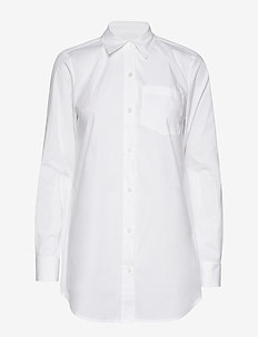 FRENCH CUFF BD TOP - white