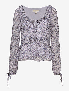 DAINTY BLOOM VISC TOP - lavendermist