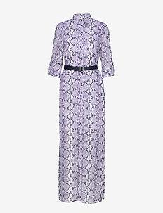 CORAL MOSAIC SHIRT DR - skjortekjoler - lavendermist