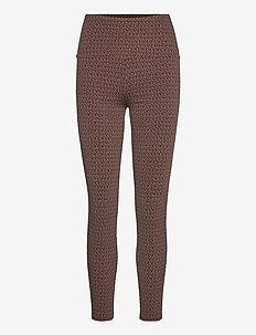 MK DOT HIGHWST LEGGING - leggings - chocolate