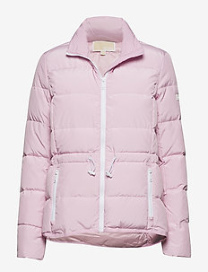 CONTRAST TRIM PUFFER - toppatakit - soft lilac