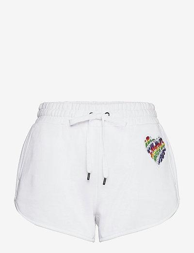 HTHR RAINBOW PATCH SHRT - casual shorts - white