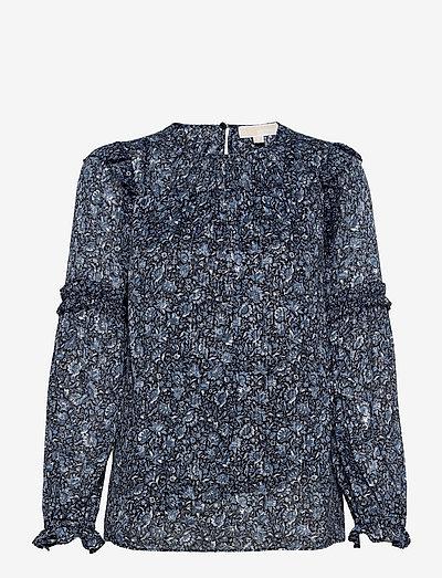 HAPPY HIPPIE TOP - blouses met lange mouwen - chambray