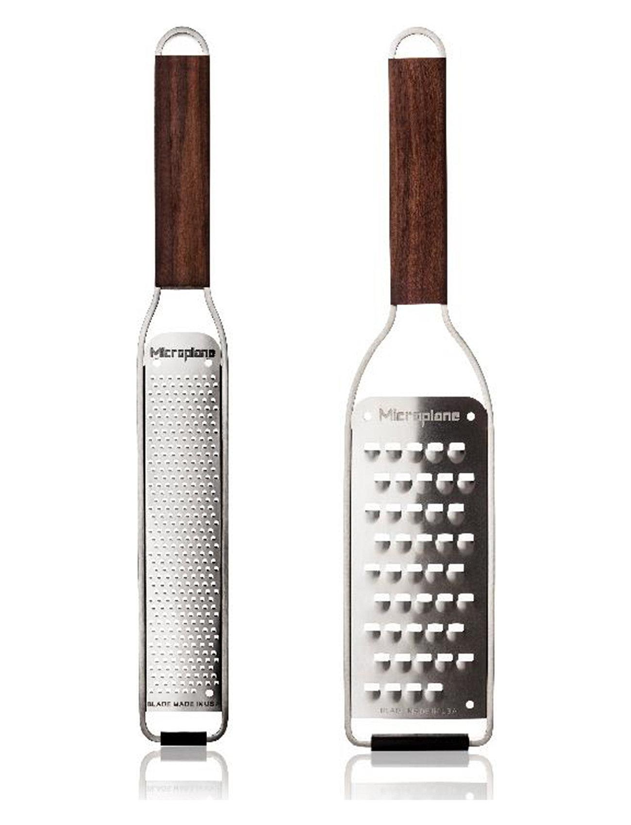 GavesæT Microplane Master Zester + Ekstra Grov Home Kitchen Kitchen Utentils Graters Brun Microplane