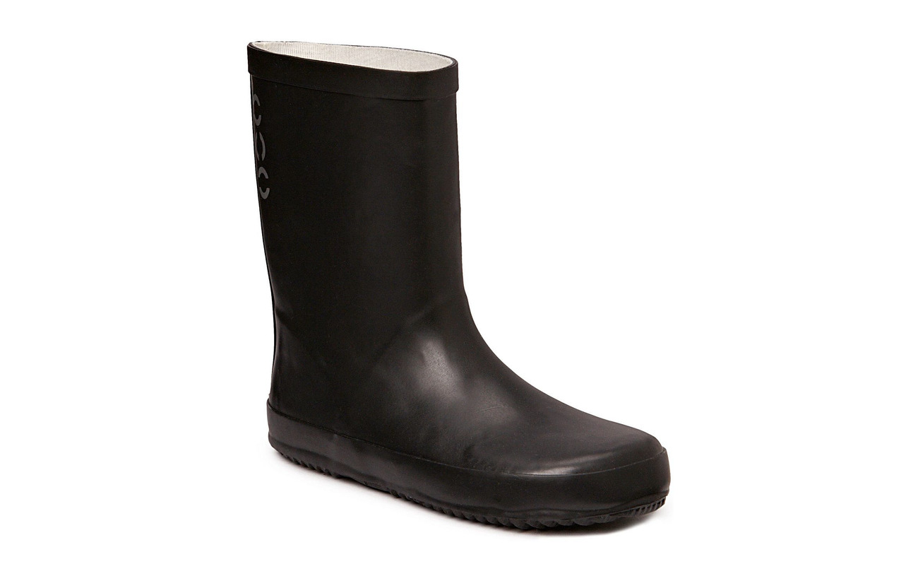 Mikk-Line Wellies - solid colour - 190/BLACK