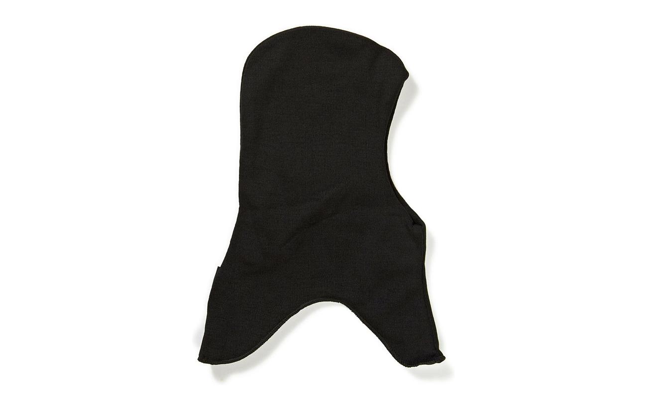 Mikk-Line Wool fullface solid - 190/Black
