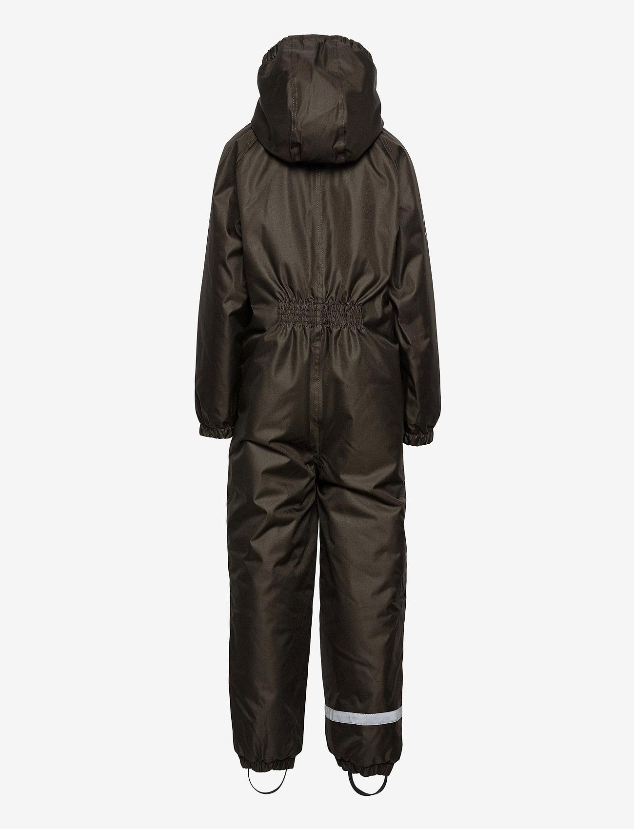 Mikk-Line - WINTER suit - snowsuit - black olive - 1