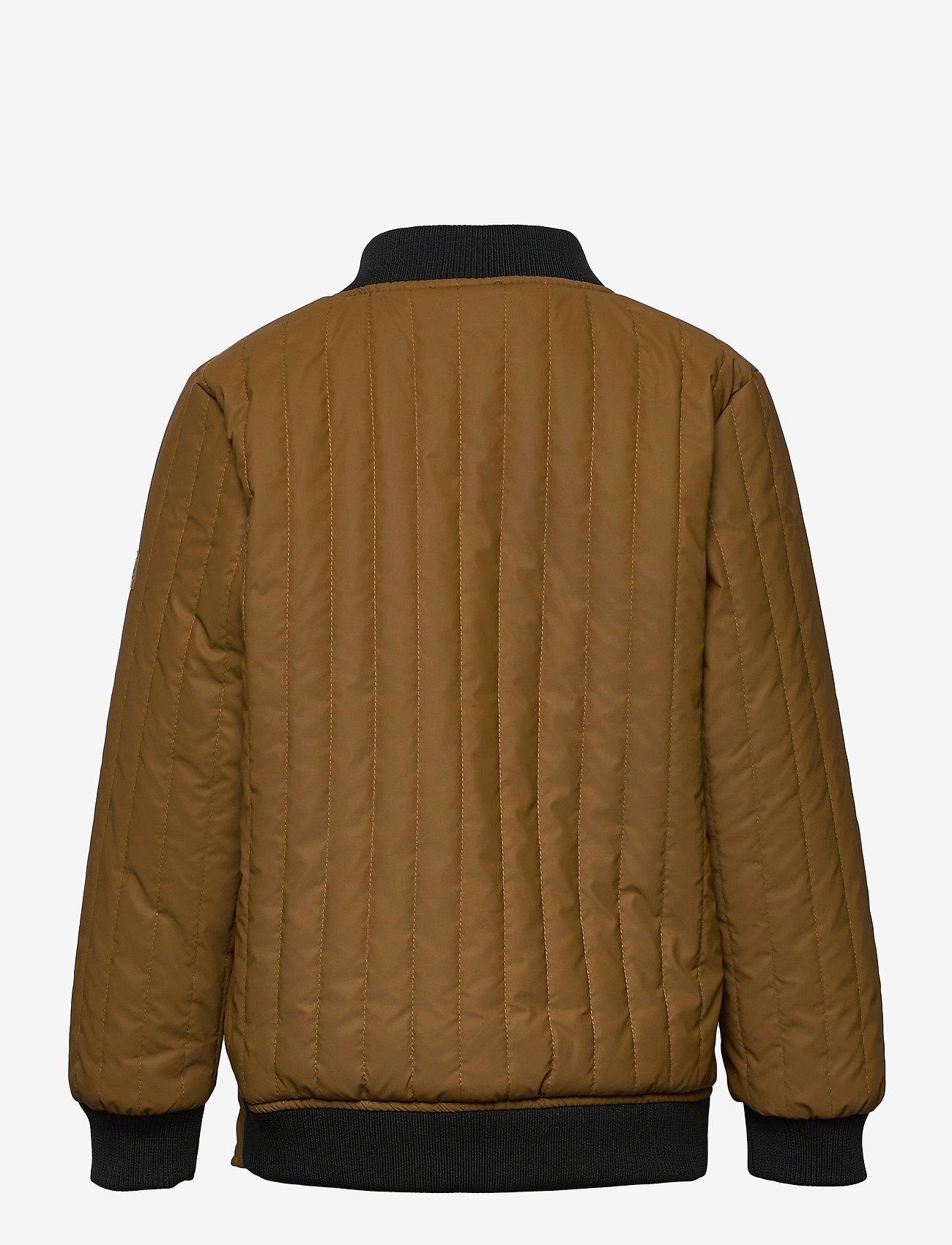 Mikk-Line - Duvet Boys Jacket - termojakke - rubber - 1