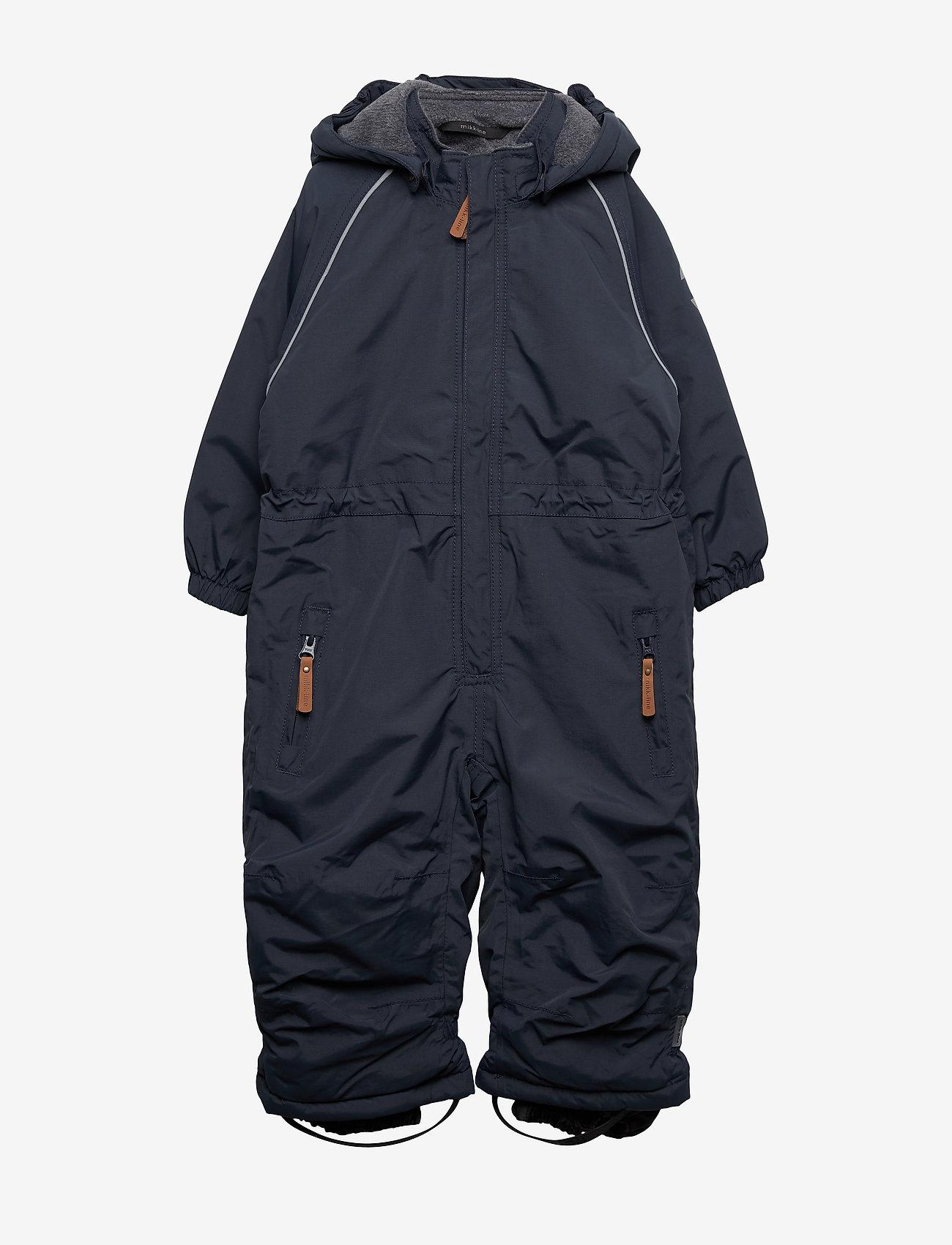 Mikk-Line - Nylon Junior Suit Solid - snowsuit - blue nights - 0