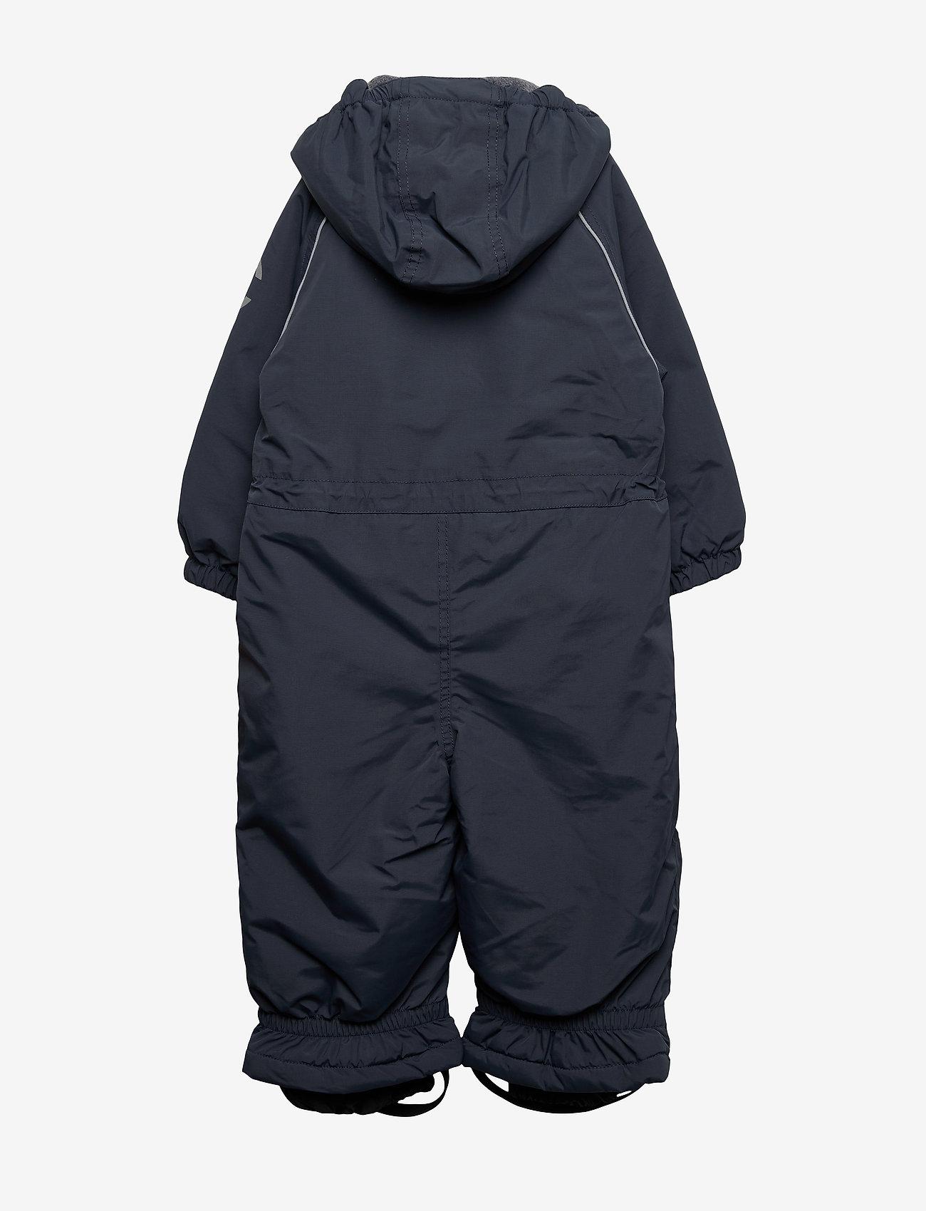 Mikk-Line - Nylon Junior Suit Solid - snowsuit - blue nights - 1