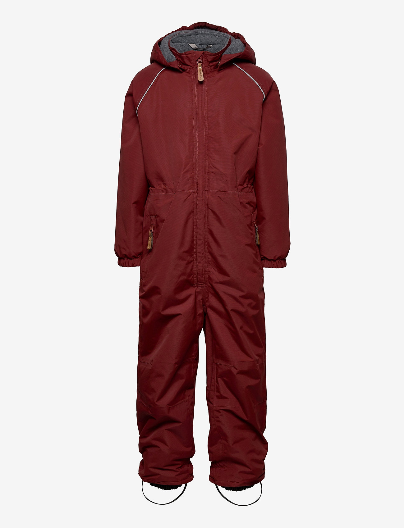 Mikk-Line - Nylon Junior Suit Solid - snowsuit - madder brown - 0