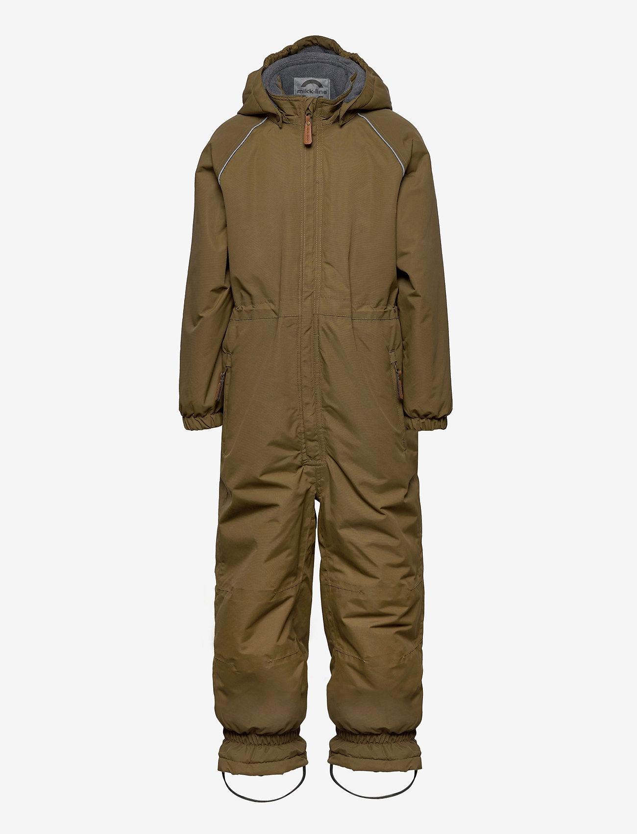Mikk-Line - Nylon Junior Suit Solid - snowsuit - military olive - 0