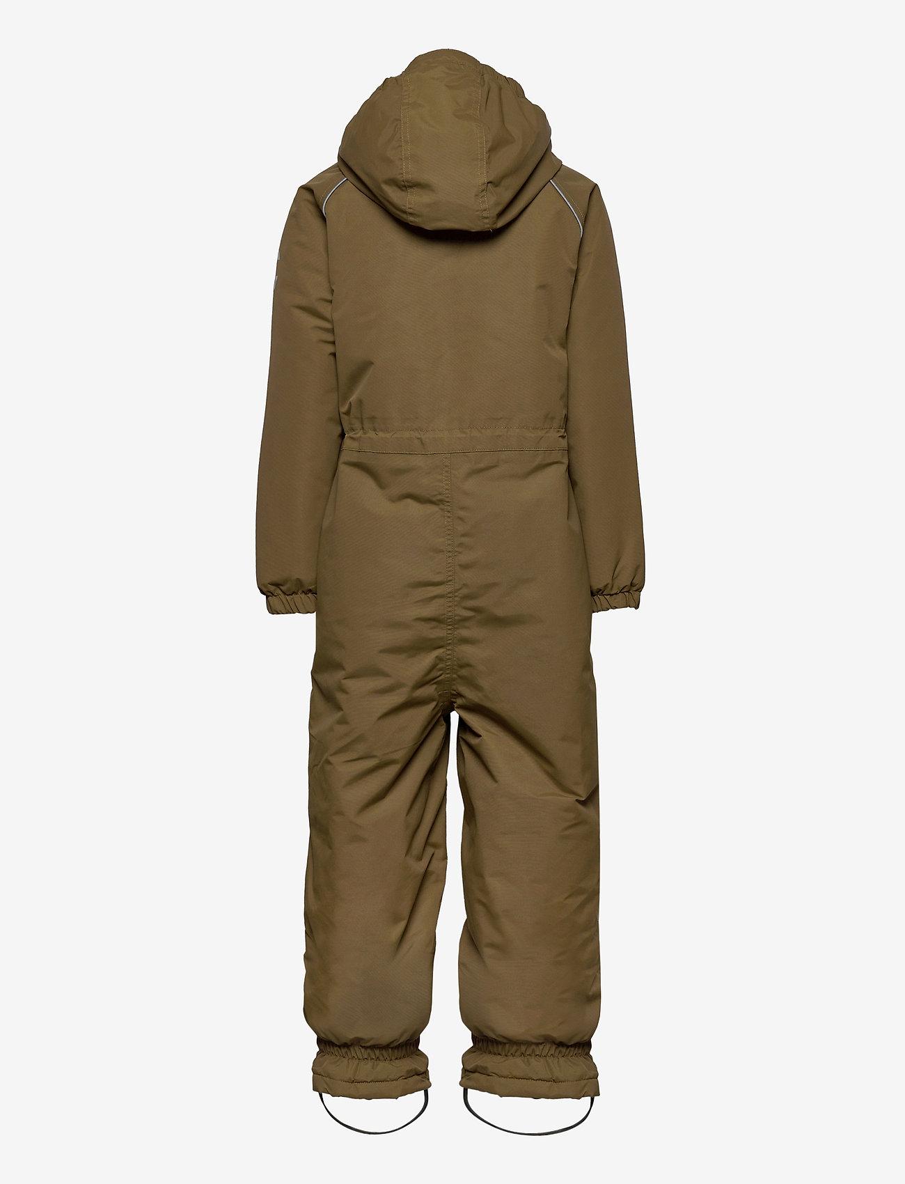 Mikk-Line - Nylon Junior Suit Solid - snowsuit - military olive - 1