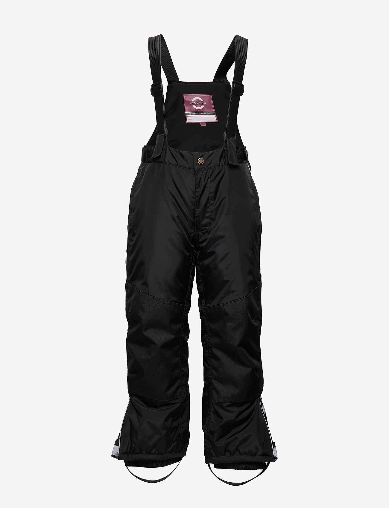 Mikk-Line - OUTDOOR Snow Pants - schneehose - black - 0