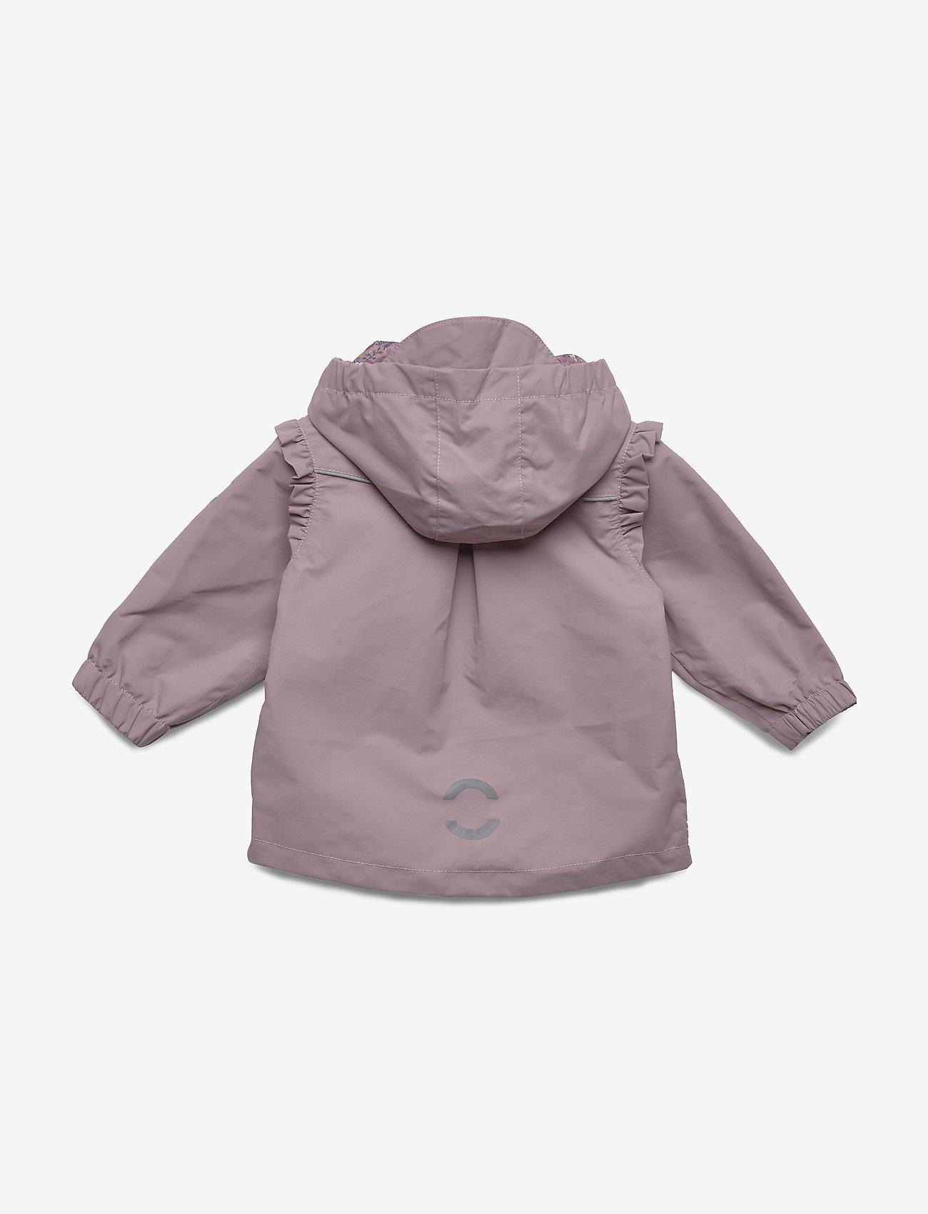 Mikk-Line - Nylon Baby Girls Jacket - shell jacket - elderberry - 1