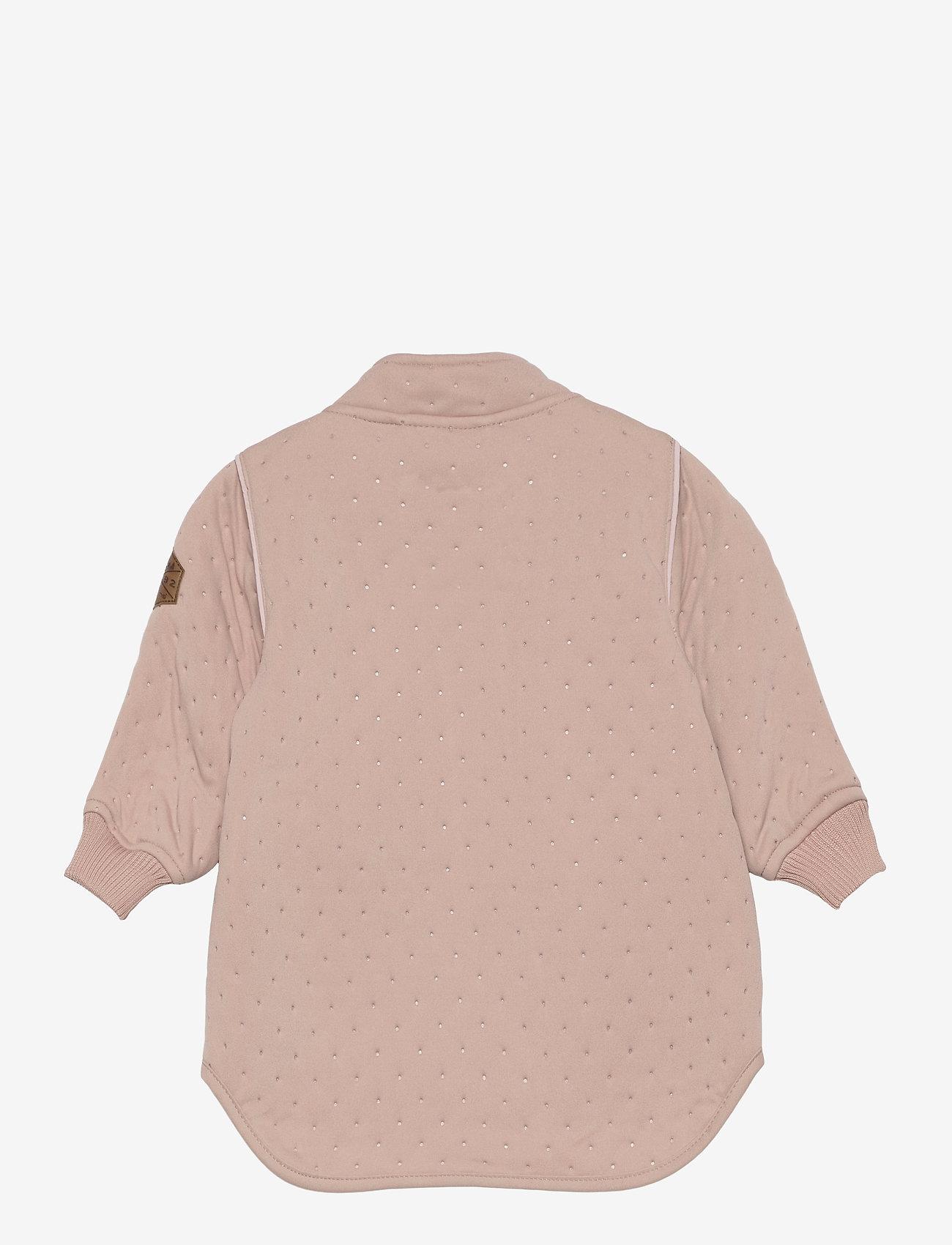 Mikk-Line - Soft Thermo Recycled Girl Jacket - termojakke - adobe rose - 1