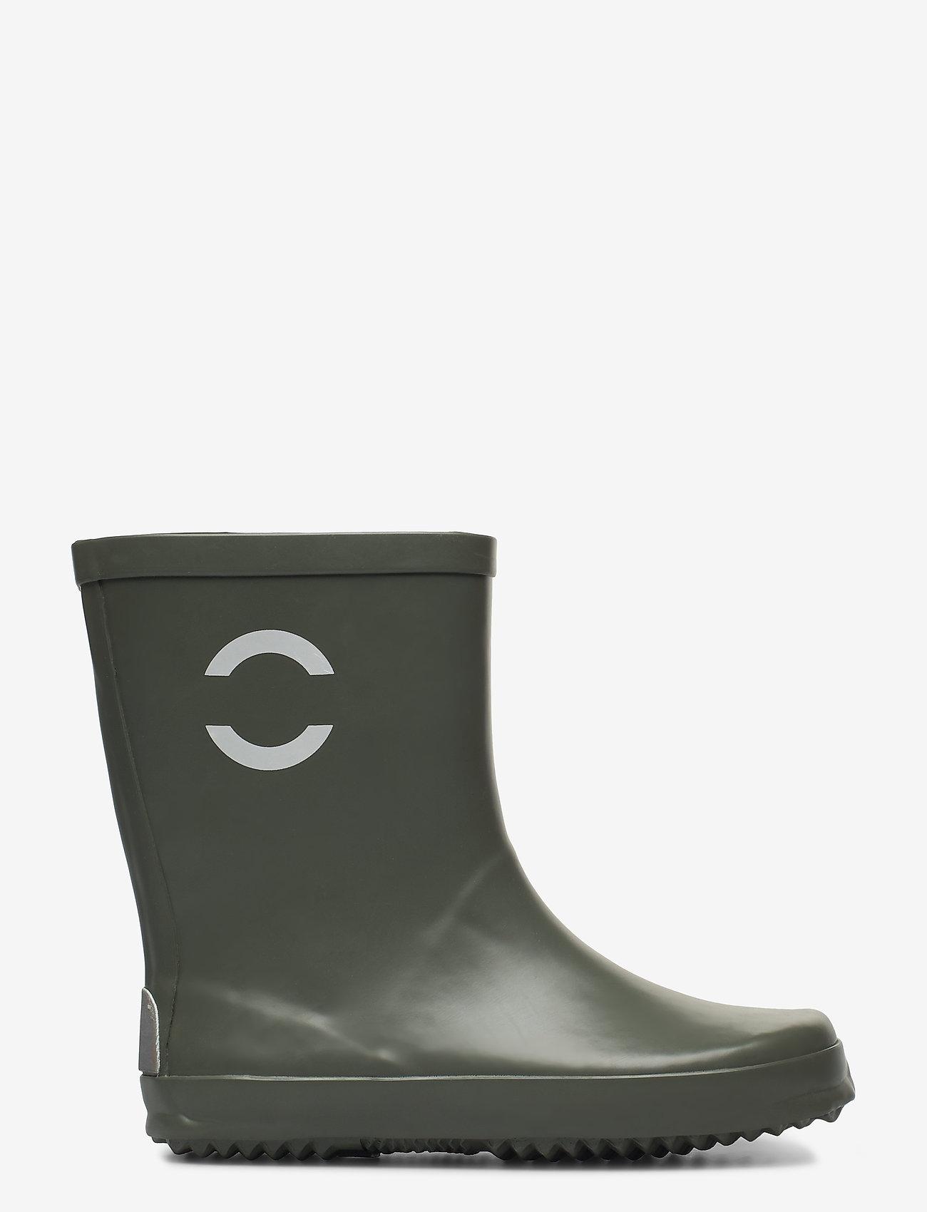 Mikk-Line - Wellies - Solid - uforede gummistøvler - dusty olive - 1