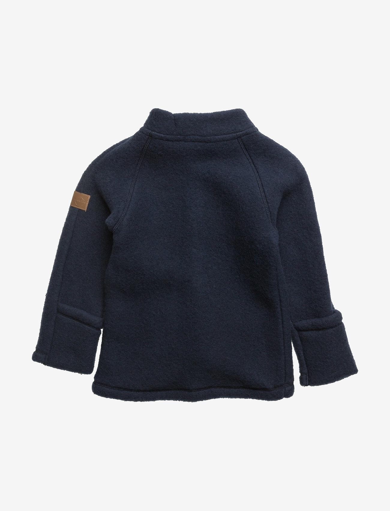 Mikk-Line - WOOL Baby jacket - uldtøj - 287/bluenights - 1